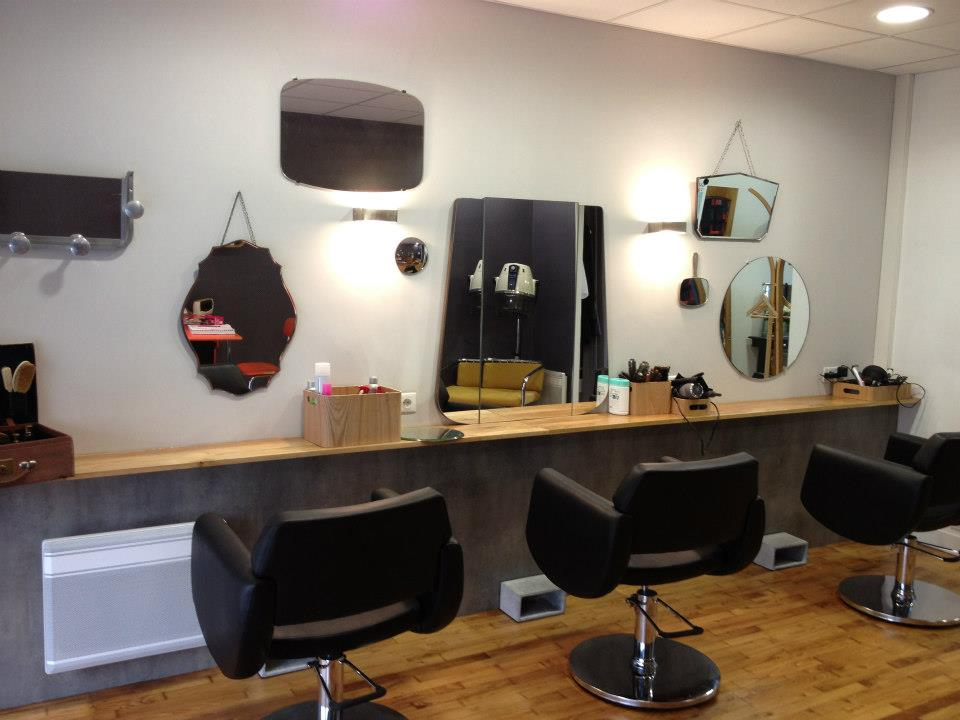 Faubourg Coiffure Salon La D Co Vintage Et Chic Charlyd Co