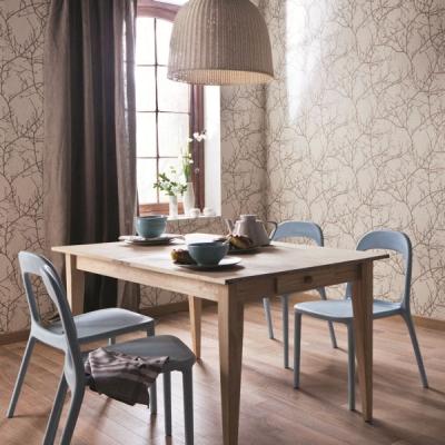le papier peint revient en force avec des couleurs et des. Black Bedroom Furniture Sets. Home Design Ideas