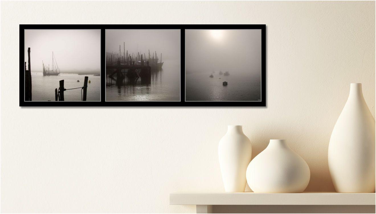 Moderne Deckenle les tableaux triptyques pour une déco moderne charlydéco