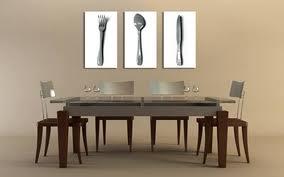 Les tableaux triptyques pour une d co moderne charlyd co for Tableau pour salle a manger